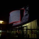projection nocturne sur la Cinémathèque