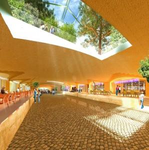Notre projet d'aménagement du premier tunnel Baron-Le-Roy