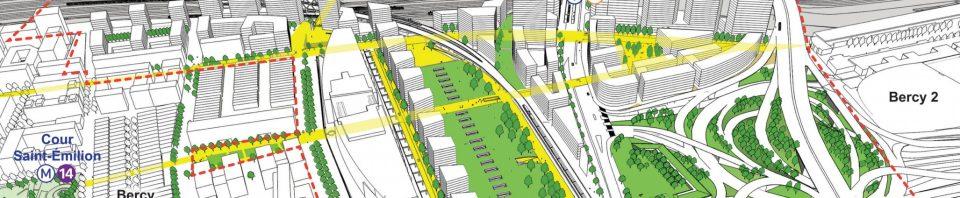 Projection du projet proposé sur le journal du projet soumis à l'enquête publique en novembre 2016