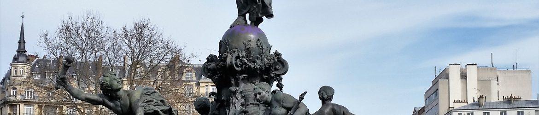 Statue de la Nation, le 25 février 2015